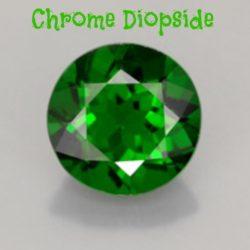 Diopside e Cromo Diopside – Gemme Preziose