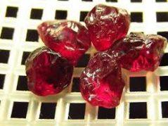 piropo-piropo granato-pyrope garnet-granato piropo-gemmologia-gemologia-edelsteine-bijoux